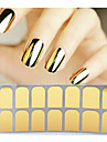 Abstrakt-Finger / Tå-3D Nagelstickers- avPVC-1pcs full cover adhesive nail sticker- styck14tips stickers- cm
