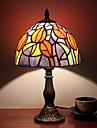 Lampes de bureau-Moderne/Contemporain / Traditionnel/Classique / Rustique/Campagnard / Tiffany / Nouveaute-Resine-Tons multiples