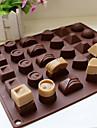 1 Bakning Hög kvalitet Choklad / Is Silikon Bakning & Bakelsetillbehör