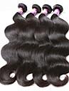 """4 pieces / lot 8 """"-30"""" bresiliens vierges vague de corps de cheveux de cheveux humains 7a trames 100% cheveux remy bresiliens tisse non"""