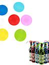 silikon åter vin flaskhållare resväska grytlapp vin nätpåse tabletter skrivbord mattor (slumpvis färg)