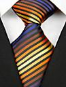 Cravată(Multicolor,Poliester)Dungi