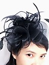 Women\'s Feather Tulle Net Headpiece-Wedding Special Occasion Fascinators 1 Piece