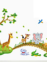 Botanique Stickers muraux Stickers avion,PVC 60X90X0.1