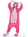 Kigurumi Pyjamas nya Cosplay® Leotard/Onesie Halloween Animal Sovplagg Rosa Lappverk Polar Fleece Kigurumi UnisexHalloween / Jul /