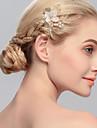 Femei Imitație de Perle Diadema-Nuntă Ocazie specială Informal Birou & carieră Exterior Piepteni de Păr 1 Bucată