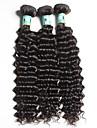 Tissages de cheveux humains Cheveux Bresiliens Ondulation profonde 3 Pieces tissages de cheveux