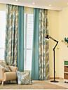Deux Panneaux Le traitement de fenetre Neoclassique Mediterraneen Europeen Rustique Moderne , Nouveaute Bande dessinee Chambre a coucher