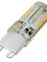 5W G9 LED-lampor med G-sockel Infälld retropassform 58 SMD 3014 400-500 lm Varmvit / Kallvit Dimbar / Dekorativ AC 220-240 V 1 st
