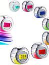 Changement de couleur LED lumiere nature alarme sonore temperature horloge calendrier snooze