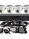 YanSe® 4CH 960H CCTV DVR Kit IR Color Dome Camera Security Cameras System 1000TVL 701CF04