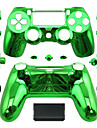 le boitier du controleur de remplacement pour le controleur ps4 cas PS4 placage vert / bleu