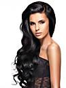 Menschenhaarspitzeperuecken fuer Frauen brasilianisches reines Haar wavyhuman Haarfarbe (# 1 # 1b # 2 # 4)