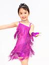 Latin Dance Dancewear Adults\' Children\'s Fringe Latin Dress