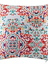 Polyester Coussin avec rembourrage,Floral Retro