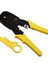 rewin® verktyg tre använda modulär kontakt nätverkskabel telefonlinje klämtång 4p / 6p / 8p pressverktyg