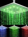Top Spray Shower Nozzle Color Temperature Control (10 Inch)