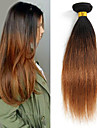 Tissages de cheveux humains Cheveux Bresiliens Droit 1 Piece tissages de cheveux