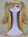 nouvelles cosplay perruque blonde synthetiques perruques de cheveux longs elegant laches perruques ondulees du parti perruques animee