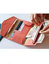 Resor Reseplånbok / Pass- och ID-hållare Packpåsar PU Leather