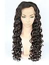 """10 """"30"""" anteriore piena del merletto parrucche dei capelli onda del corpo umano pizzo parrucche capelli vergini brasiliani glueless"""