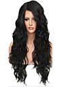 ny !!! 100% äkta obearbetat människohår fullt spets peruk med baby hår brasilianska jungfru limfria lös våg spets peruk