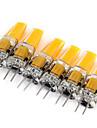3W G4 LED-lampor med G-sockel MR11 1 COB 180 lm Varmvit / Kallvit Dekorativ DC 12 / AC 12 V 6 st