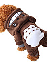 Dog Costume / Hoodie Brown Winter Animal / Cartoon