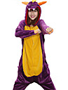 Fierce Purple Dragon Polaire Adulte Kigurumi pyjama