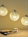Max 60W Hängande lampor ,  Modern Rektangulär Särdrag for Ministil MetallLiving Room / Bedroom / Dining Room / Skaka pennan och tryck på
