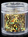 12 couleurs belles paillettes 10g bijoux a ongles