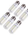 15W E14 / E26/E27 Ampoules Mais LED T 56 SMD 5730 1350 lm Blanc Chaud / Blanc Froid Decorative AC 100-240 / AC 110-130 V 6 pieces