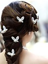 Hollow Out A Butterfly Hairpin(Set Of 4)