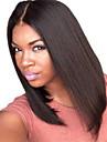 sommaren bob peruk mittdel spets front peruk människohår jungfruligt indiskt spets peruk naturligt svart färg för svarta kvinnor