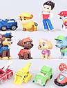 Figurine Acțiune & Animale Caini Mașină Băieți Fete Desene Animate 12