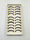10 pares cilios posticos cilios falsos brilho chicote individuo extensoes de chicote de alta qualidade tira clara lash