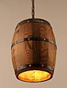 40W Hängande lampor ,  Vintage Målning Särdrag for Ministil Trä/BambuLiving Room / Bedroom / Dining Room / Sovrum / Matsalsrum / Badrum /