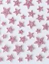 vackra rosa västerländsk stil stjärna 3d spik klistermärken