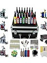Basekey Tattoo Kit K226 6 Machines Machine With Power Supply Grips Cleaning Brush Needles Ink