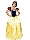 Charming Snow White Satin Halloween Female Princess series Costumes