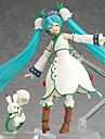 Vocaloid Hatsune Miku PVC Anime Actionfigurer Modell Leksaker doll Toy