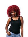 sans colle rouge boucles perruque de cheveux courts de femmes de la mode pour les afro-americaine