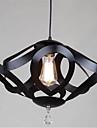 Lampe suspendue ,  Contemporain Peintures Fonctionnalite for Cristal Style mini MetalSalle de sejour Chambre a coucher Salle a manger