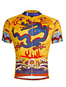 PALADIN® Maillot de Cyclisme Homme Manches courtes VeloRespirable / Sechage rapide / Resistant aux ultraviolets / Bandes Reflechissantes