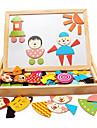 trä magnetiska spell stava, barn magnetisk ritbordet, baby tidig barndom pedagogiska leksaker