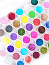 45PCS  Mix Color Nail Art  Acrylic Powder Nail Art Decoration