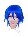 Cosplay Wigs Cosplay Cosplay Blue Short Anime Cosplay Wigs 30 CM Heat Resistant Fiber Male / Female
