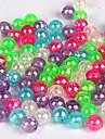 """100 pcs Kits de leurre Vert / Blanc / Violet / Bleu / Rouge 100pc g/1/18 Once,5mm mm/<1"""" pouce,Plastique durPeche en mer / Peche a la"""