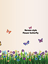 Animaux Botanique Nature morte Mode Floral Loisir Stickers muraux Autocollants avion Autocollants muraux decoratifs Materiel Amovible