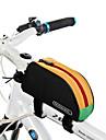 ROSWHEEL® Cykelväska 1LVäska till cykelramen Vattentät dragkedja Bärbar Fuktighetsskyddad Stötsäker Cykelväska PVC 600D Polyester